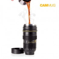 Cammug Camera Lens Vacuum Flask
