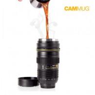 Borraccia Termica a forma di Obiettivo Fotocamera Cammug