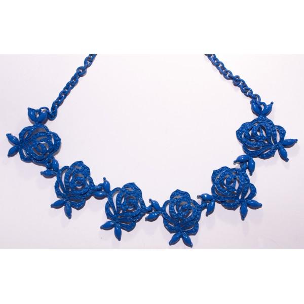 81d80e858892 ... collar gargantilla rosas azules 09-17CG ...