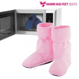 Warm Hug Feet Microwavable Boots