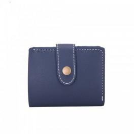 60d7afae7ba Billetera Cartera Mujer Azul Oscuro - The Blue Store