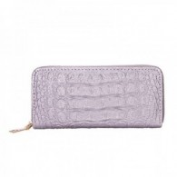 Ladies Wallet Grey Silver