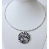 Collar Relieve en Acero Inox-4