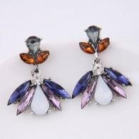 Pendientes Mujer Crystal Colores