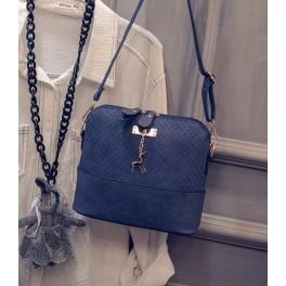 Women's Handbag Blue Walk