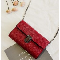 Bolso Clutch Party Red