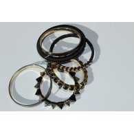 Bracelets combinés Rock and Roll