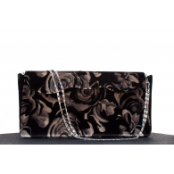 Women's Party Bag Velvet Flower