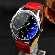 Unisex Watch Red Time
