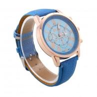 Women Watch Blue Time