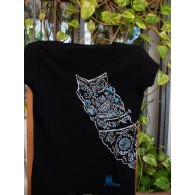 T-shirt black tribal