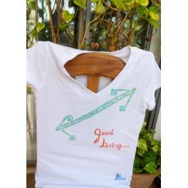 T-shirt white Good Living