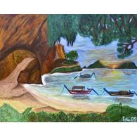 Original Paint. Sunrise in Krabi