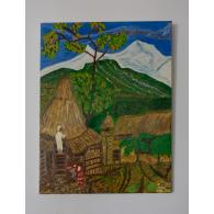 Vernice originale. Valle a Pokhara