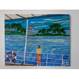 Pintura Original El Viaje