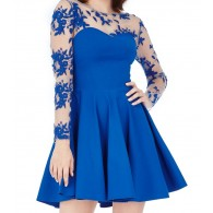 Party Dress Blue Skater