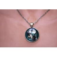 Pendentif amulette OM Cristal