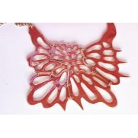 Women's Choker Necklace Butterfly