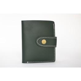Cartera billetera Mujer Verde Oscuro
