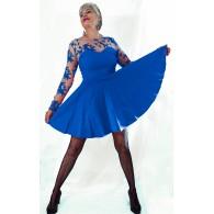 Vestido Brigitte azul