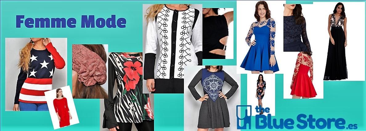 Vêtements à la mode à The Blue Store.