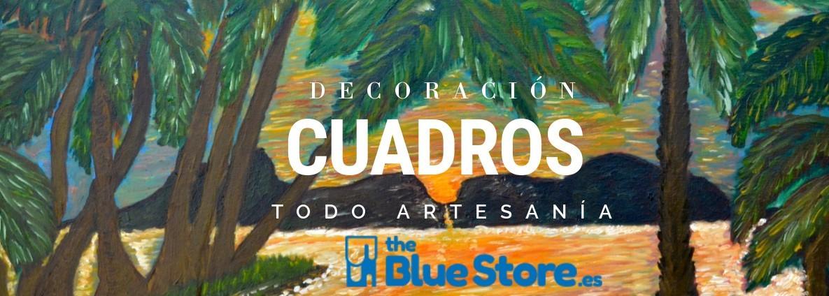 cuadros y pinturas al óleo en thebluestore.es
