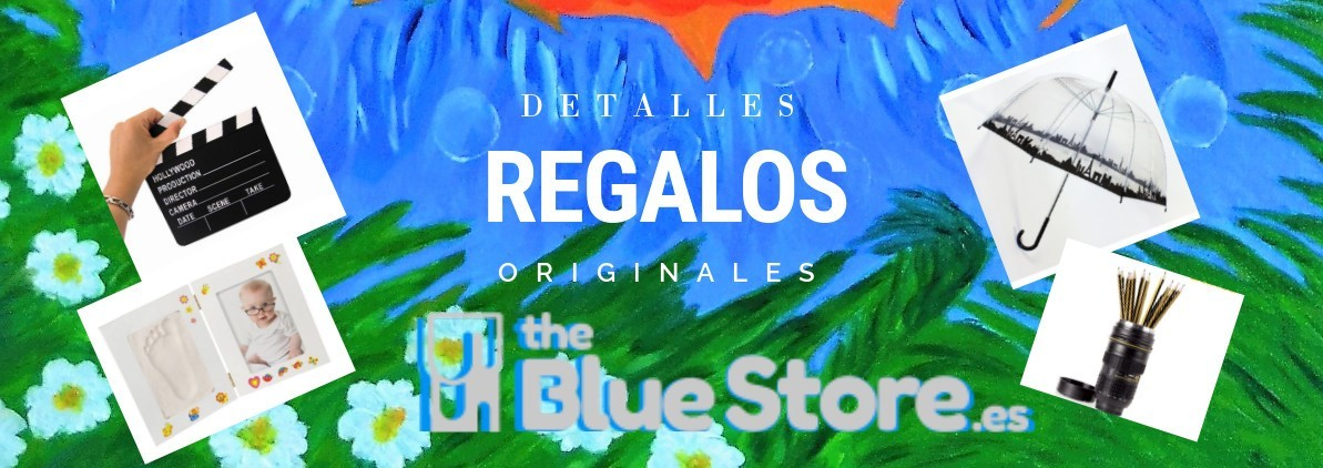 regalos y detalles originales en The Blue Store.