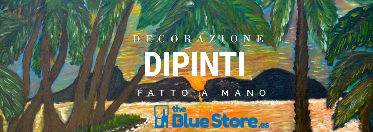 Decorazione dipinti tutto fatto a mano il Blue Store