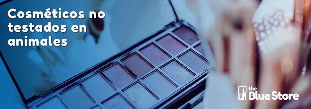 Maquillaje y cosméticos en The Blue Store.