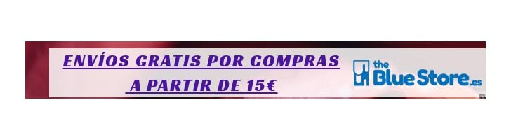 Gastos de Envío Gratis a partir de 15€ de compra